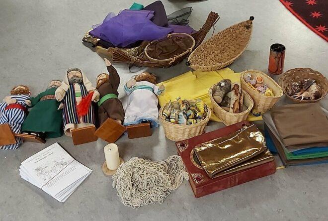 biblische Symbole und Gegenstände