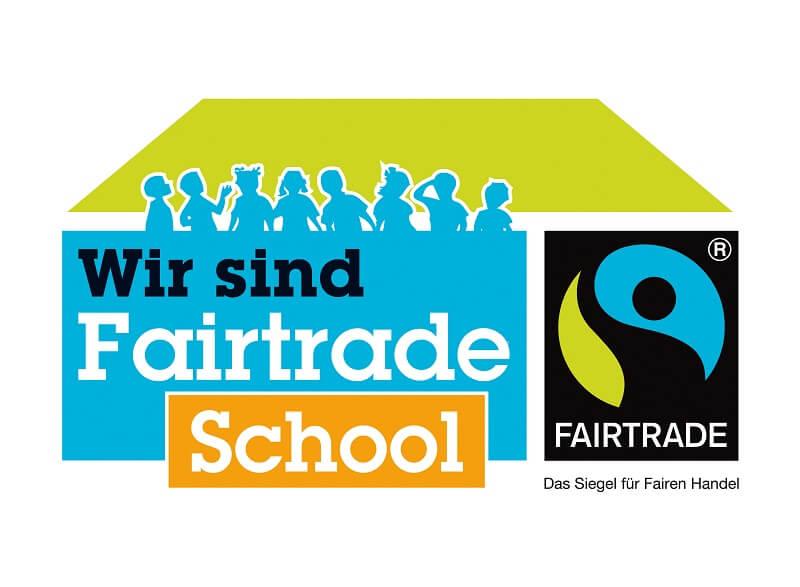 "Logo ""Wir sind Fairtrade School"""