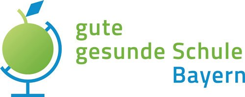 """Logo von """"gute gesunde Schule Bayern"""""""